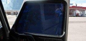 На фото - электронное тонирование автомобильного стекла, novosibirsk.baza.drom.ru