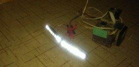 Фото проверки работы самодельных дневных ходовых огней, drive2.ru