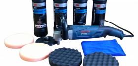 Фото профессионального набора для полировки автомобиля, gtool.ru