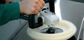 На фото - шлифовальная машинка для полировки автомобиля, avtohm.ru