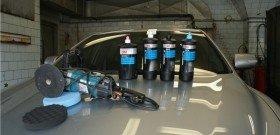 Фото защитной полировки автомобиля, soundspeed.ru