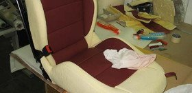 Фото перетяжки сидений автомобиля своими руками, mistergid.ru