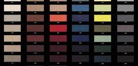 Фото цветовой гаммы ткани Алькантара для перетяжки салона автомобиля, avtolock-aswf.ru