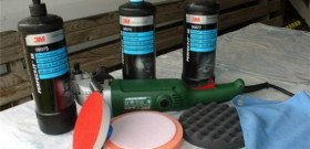 Фото инструментов для полировки фар автомобиля, vip-zone.ws