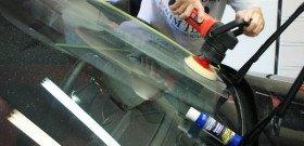 Фото полировки лобового стекла автомобиля шлифмашинкой, forums.bimmerforums.com