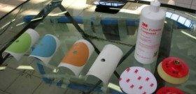 Фото полировальных кругов для стекол автомобиля, autosecret.net