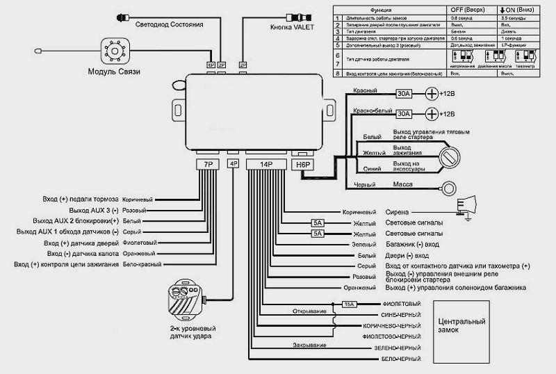 схема принципиальная tomahawk x3 брелок