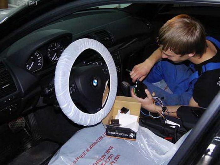 Установка сигнализации в авто своими руками