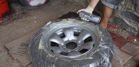 Фото как самому покрасить диск авто, newton.ua