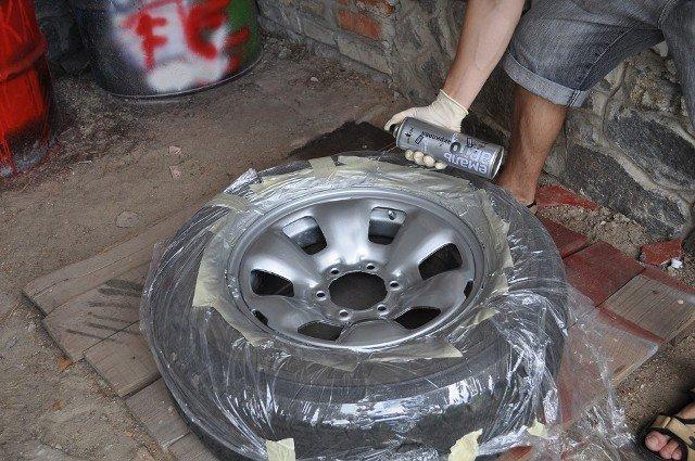Покрасить диски авто своими руками фото 298