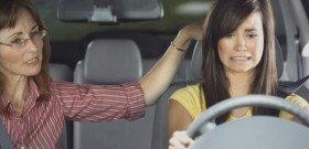 На фото - страх вождения автомобиля, avillage.ru