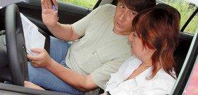 На фото - боязнь вождения автомобиля, delfi.ua