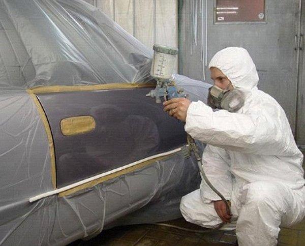 Фото по покраске автомобиля своими руками фото