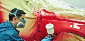 На фото - как самостоятельно сделать локальную покраску автомобиля, mart-service.ru