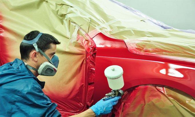 Покраска авто своими руками баллончиком фото