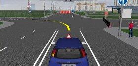 На фото - виртуальное вождение автомобиля, ipdd.adrive.by