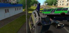 На фото - тренажер вождения автомобиля, sanekua.ru