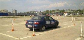 На фото - обучение правилам безопасности дорожного движения, cityradar.ru