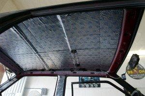 Фото шумоизоляции крыши автомобиля, bebetutu.ru