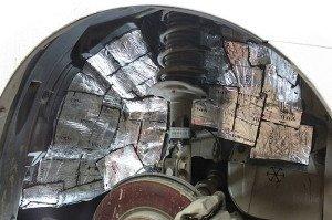 Фото  шумоизоляции колесных арок, izhevsk.ru