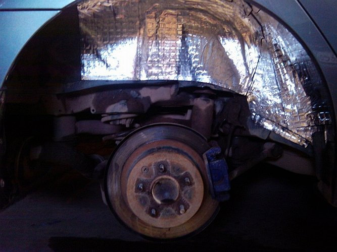 Шумоизоляция арок авто своими руками видео