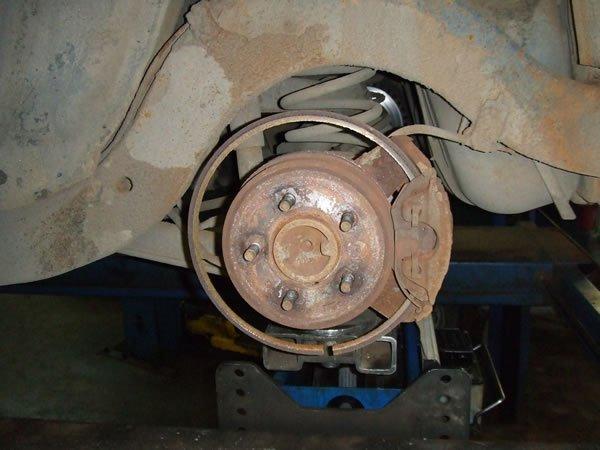 Машина долго стояла заржавели тормозные диски что делать 77