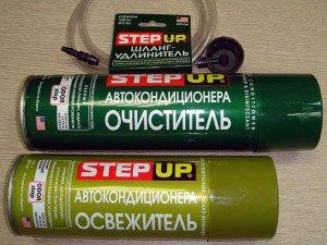 Фото комплекта для очистки автомобильного кондиционера, sto-germes.ru