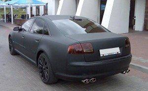 Фото автомобиля с матовой покраской, 17car.ru