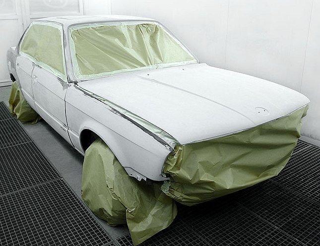 Покраска кузова автомобиля своими руками технология
