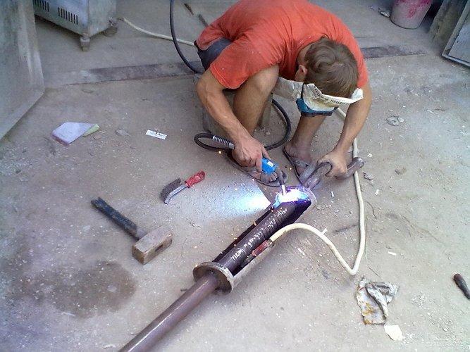 Своими руками ремонт выхлопной системы фото 28