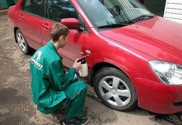 Покрасить автомобиль металлик