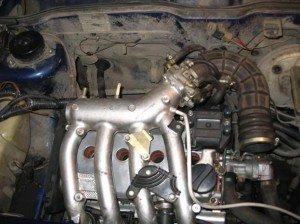 На фото - выпускной коллектор для сбора выхлопных газов и их вывода в трубу, exstrim-bog.ru