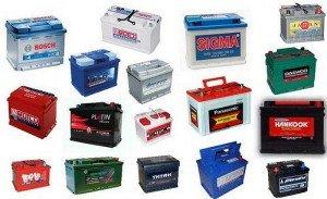 На фото - разнообразие аккумуляторов с разными значениями пускового тока, alfapar.ru