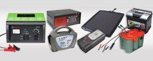 На фото - основные типы зарядных устройств для автомобильных аккумуляторов, akb-market.ru