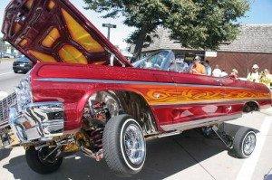 На фото - креативный тюнинг подвески автомобиля, tuning.poprostomu.com