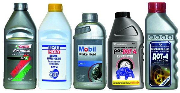 Фото тормозной жидкости автомобиля