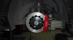 Фото тормозной системы автомобиля, xyz-brakes.ru