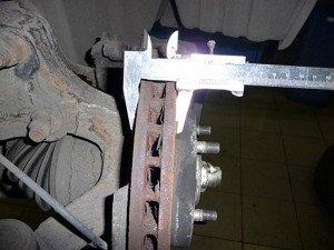Фото проверки износа тормозных дисков своими руками, carnovato.ru