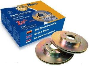 На фото - качественные тормозные диски авто, лада2111.рф