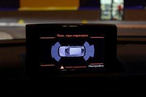 На фото - выбор активации парктроника, drive2.ru