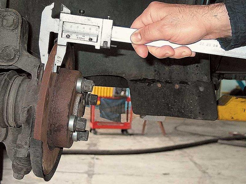 Фото №8 - минимальная толщина тормозного диска ВАЗ 2110