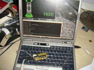 Фото настройки программы контроллера парктроника, pccar.ru