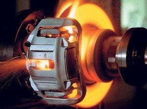 Фото перегрева тормозных дисков, autosvit.net