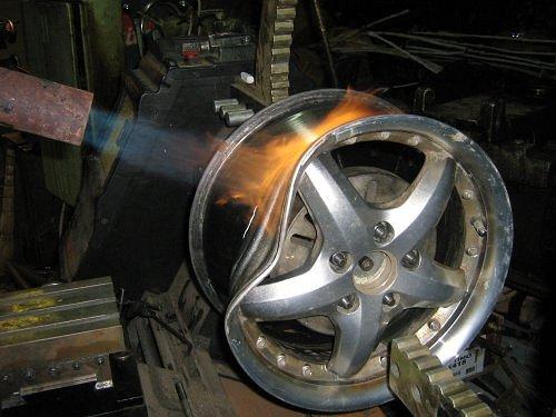 Литые диски ремонт своими руками