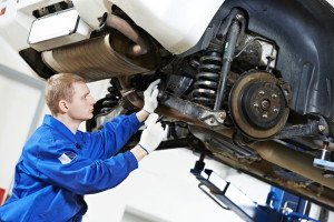 Фото диагностики подвески автомобиля, 956service.ru