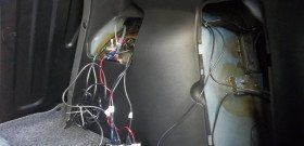 На фото - как правильно установить парктроник, drive2.ru