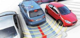 Фото правильной работы парковочных радаров, zest-line.ru