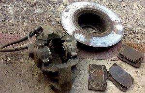 Фото изношенных тормозных дисков, vaz2101.ru