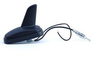 На фото - автомобильная антенна акулий плавник с приемом AM/FM волн, crimea.all.biz