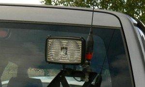 Фото установки ТВ антенны для авто, wifiantenna.org.ua